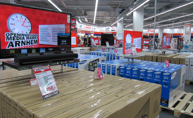Inter Fact Interiors Bv Project Mediamarkt